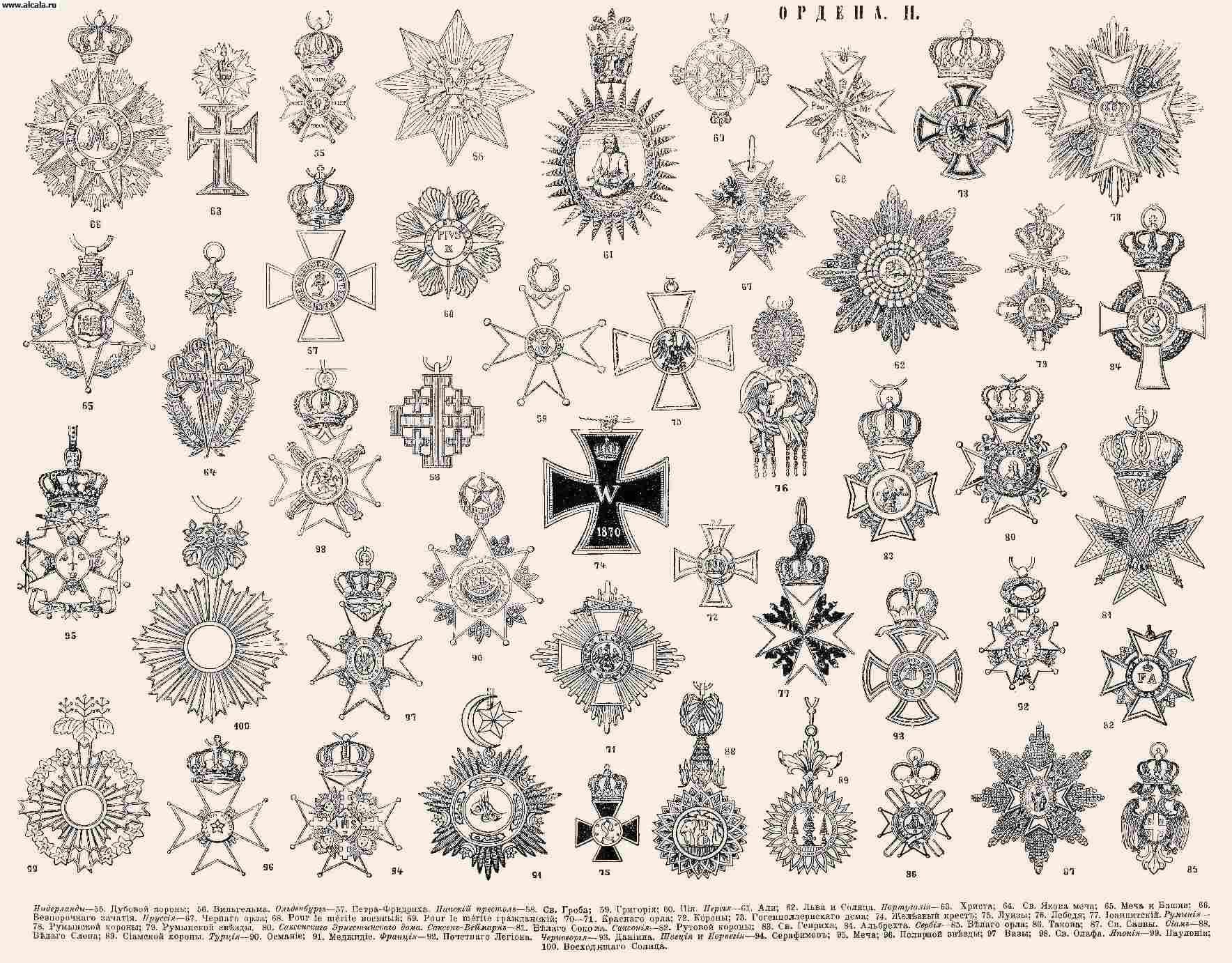 Орден. ОРДЕНА II