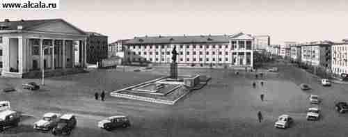 Альметьевск - город (с 1953) в России, административный центр Альметьевског