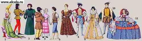 25 май 2013 женский и мужской костюм Англии 16 века Лиф женского костюма ст